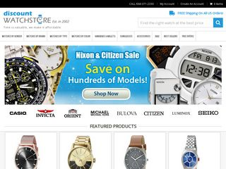 httpwwwdiscountwatchstorecom Online Shopping Websites