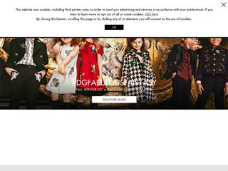 httpwwwdolcegabbanacom Online Shopping Websites