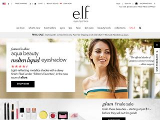 httpwwwelfcosmeticscom Online Shopping Websites