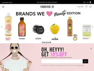 httpwwwforever21com Online Shopping Websites