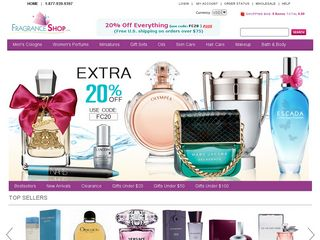 httpwwwfragranceshopcom Online Shopping Websites