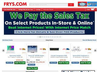 httpwwwfryscom Online Shopping Websites