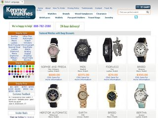 httpwwwkenmarwatchescom Online Shopping Websites