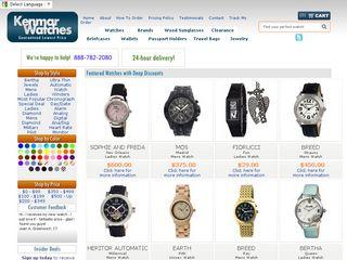 httpwwwkenmarwatchescom Tổng hợp các trang website mua hàng online ở Mỹ