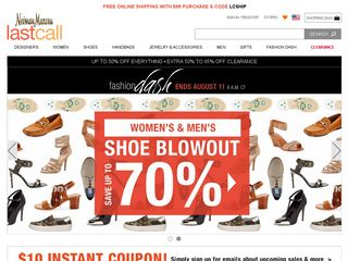 httpwwwlastcallcom Online Shopping Websites
