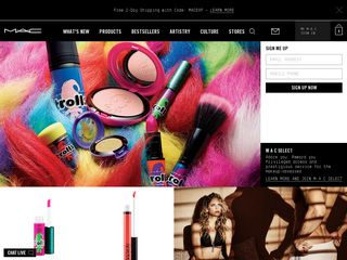 httpwwwmaccosmeticscom Online Shopping Websites