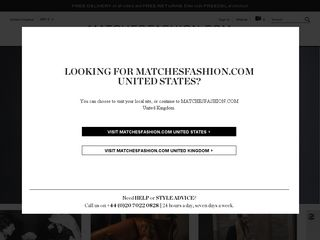 httpwwwmatchesfashioncom Online Shopping Websites