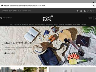 httpwwwmontblanccomenushomehtml Tổng hợp các trang website mua hàng online ở Mỹ