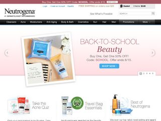 httpwwwneutrogenacom Online Shopping Websites