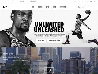 httpwwwnikecomusenus Tổng hợp các trang website mua hàng online ở Mỹ