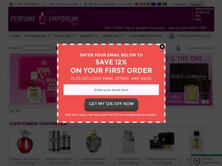 httpwwwperfumeemporiumcom Online Shopping Websites