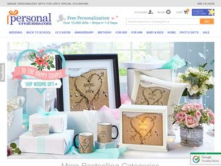 httpwwwpersonalcreationscom Online Shopping Websites