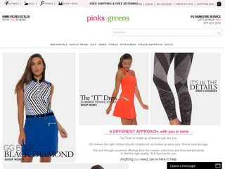 httpwwwpinksandgreenscom Online Shopping Websites