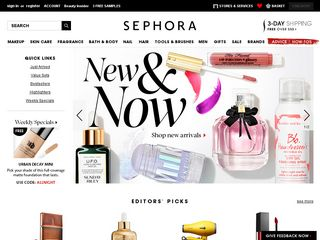 httpwwwsephoracom Online Shopping Websites