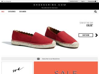 httpwwwshoescribecom Online Shopping Websites