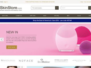 httpwwwskinstorecom Online Shopping Websites