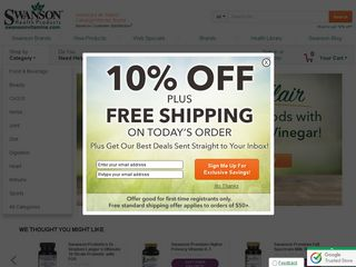 httpwwwswansonvitaminscom Online Shopping Websites