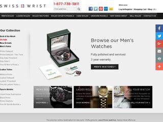 httpwwwswisswristcom Tổng hợp các trang website mua hàng online ở Mỹ