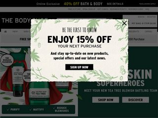 httpwwwthebodyshopusacom Online Shopping Websites