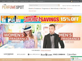 httpwwwtheperfumespotcom Online Shopping Websites