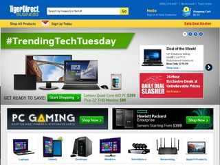 httpwwwtigerdirectcom Online Shopping Websites
