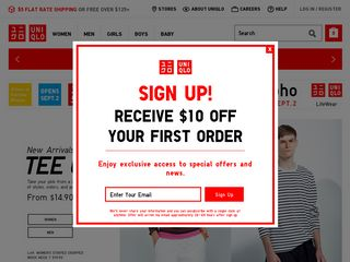 httpwwwuniqlocomus Online Shopping Websites