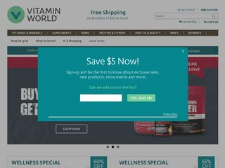 httpwwwvitaminworldcom Online Shopping Websites